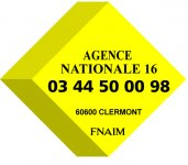 IMMOBILIERE AGENCE NATIONALE 16 - FNAIM