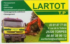 Lentreprise Lartot Est Une Entreprise Unipersonnelle Responsabilit Limite Cre Par Patrick En 1975 Sur La Commune De Torpes Dans Le Doubs