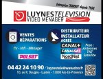 LUYNES TELE VIDEO MENAGER