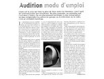 AUDITION NUMERIC LORIMED