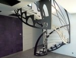 ESCALIER DESIGN - JEAN LUC CHEVALLIER POUR LA STYLIQUE PARIS / LONDON