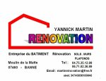 MARTIN YANNICK RENOVATION