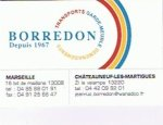 SOCIETE DE TRANSPORT BORREDON